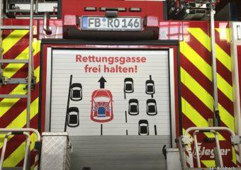 Der Weg der Leben retten kann – Die Rettungsgasse
