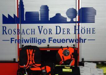 Feuerwehr Rosbach rüstet dank Spenden auf