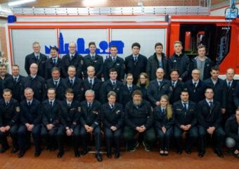 Zahlreiche Ehrungen und Beförderungen zur gemeinsamen Jahreshauptversammlung der Feuerwehren der Stadt Rosbach